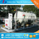 Mini LPG station with filling machine for gas cylinder