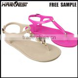 woman stud slipper for wholesale, asian style sublimation fashion casual lady sandal for woman