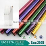 Colourful wrapping plastic bopp roll transparent cellophane paper
