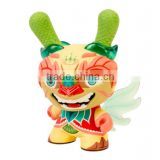 factory making Dunny 8 inch Imperial Lotus Dragon vinyl toy/custom design collectables Dunny vinyl toy/oem hot sale vinyl toy