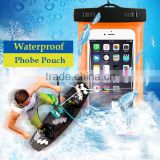 YZTEK 2016 Newest Mobile Phone Waterproof Dry Bag Case Transparent With Scrub for Smartphones