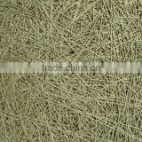 Wood fiber cement board acoustic mineral fiber wall titles