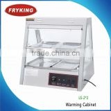 Low Price Food Warming Cabinet Hot Display Showcase