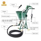 New Type Cement mortar grouting/ spraying pump widely used