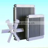 oil-free air compressor aluminum oil coolers hydraulic oil radiator heat exchanger