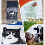China cheap price pp woven bag laminated for animal feed/fodder packing                                                                                                         Supplier's Choice
