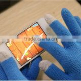 Touch screen control nap thickening gloves for mobile phone