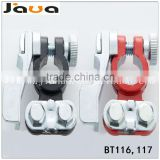 Battery terminal clamp type and red(positive) & black(negative) gender car terminal block