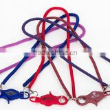 Promotional Casino Plastic Spiral Bungee Cord Lobster Claw Casino Bungee Coil Cord With Ring