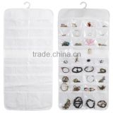 Jewelry Accessories Storage Bag Hanging Organizer Holder Pouch Display 72 Pocket
