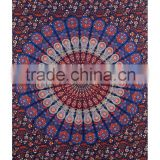 Indian Mandala Tapestry,Dorm Wall Hanging, Bohemian Bedspread ,Wall Tapestries Indian Wall Decor Queen Bedsheet Bed Decor