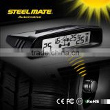 2015 SteelmateTP-S1 solar power tpms battery monitoring system, tire gauge keychain, alarm systems air pressure