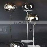 Glass Floor Lamp Modern Lighting Fixtures-Mirror Ball Floor Light