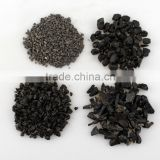 Factory price natural black aggregate stone for building construction
