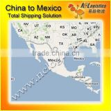 Guangzhou International Logistics To Vera Cruz Mexico