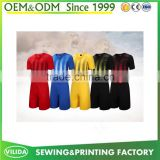 wholesale new season soccer training jersey cheap price dry fit sublimation football uniform