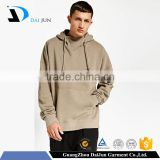 cheap with hood 100% cotton special hem men custom plain fashion pullover with drawstring hoodie sweatshirt