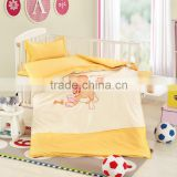 Home Use and 3 pcs High Quantity Baby Crib bedsheet set