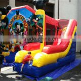 high standard quality inflatable mickey mouse jumping castle,baby inflatable bouncer slide