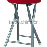 Children chair with PU cushion powder coating steel