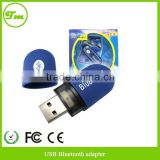USB Wireless Bluetooth Dongle Adapter for Laptop Desktop Tablet Computer - BLUE
