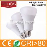 New design 650lm 7W Sanan SMD5730 led bulb low price E27 incandescent light bulb