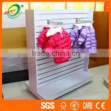 High End Melamine MDF Wall Mounted Clothing Counter Racks