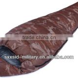 ISO standard goose down inflatable sleeping bags military sleeping bag camping sleeping bag
