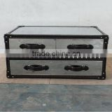Metal storage trunks
