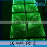 disco/concert/ T stage waterproof led colorful floor,interactive 3d led dance floor