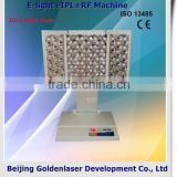 Pigment Removal Www.golden-laser.org/2013 New Style 2.6MHZ E-light+IPL+RF Machine Facial Tanner Device 590-1200nm
