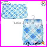 E076 Baby Plaid Ultra Soft Plush Blanket Fleece Warm Wool Plaid Blanket