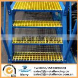 Molded colorful water resistance fiberglass solid grille tree protection FRP steel grating