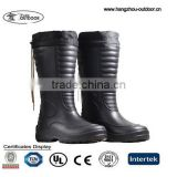 Warm EVA Rain Boots, Mens Warm Black EVA Rain Boots, Mens Warm Black EVA Rain Boots For Winter