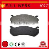 High precision FULL WERK brake pads manufacturer double disc brakes bicycle