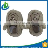 Trade assurance soft plush animal children slippers