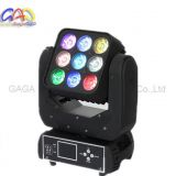 New 3*3 RGBW Matrix Panel Beam Moving Head Light for Disco
