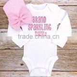 Wholesale Newest Long Sleeve Baby Clothes Romper 100% Cotton Breathable Baby Romper Baby Clothes 2016