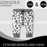 100% cotton fleece or loop knit baby boy pants with custom designs