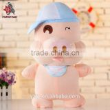 YangZhou toy manufacturer supply cute stuffed pig fat pig toys