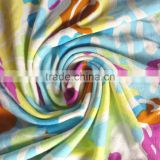 Printted jersey fabric 95% lenzing modal 5%spandex 200gsm
