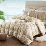 dobby cotton shell luxury duck down fill quilt comforter