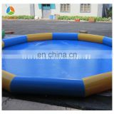 round shape giant inflatable pool