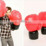 Inflatable Boxing Gloves in Red