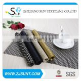 Hot sale eco-friendly heavy 8x8 PVC placemat