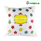 Stylish zipper sublimation pillow case plain printed