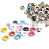 Metal eyelets Stamping Card Making Round Mixed color Sewing Accessories Garment 5mm Hole
