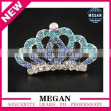 High Quality New Design Hair Barrette Princess Crown For Girl