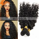 Hot sale virgin peruvian hair I tip hair extensions deep curly hair bundles