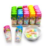 Halal mulit color rainbow ball fruit flavor press candy